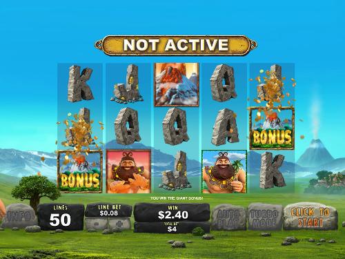 free Jackpot Giant bonus feature