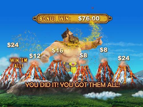 free Jackpot Giant bonus all win