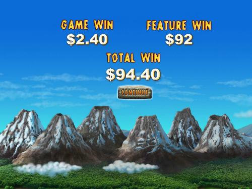 free Jackpot Giant slot bonus game total prize